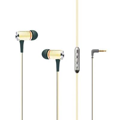Наушники MP3 AWEI S2vi Gold + mic + button call answering + volume control