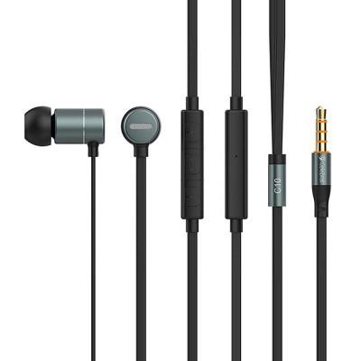 Наушники MP3 Celebrat C10 Black + mic + button call answering + volume control