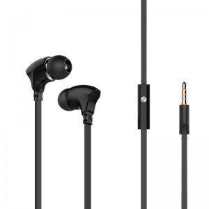 HF MP3 Celebrat G3 Black + mic + button call answering
