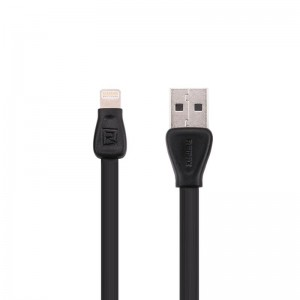 USB Cable Remax (OR) Martin RC-028i iPhone 5 Black 1m (5-076)
