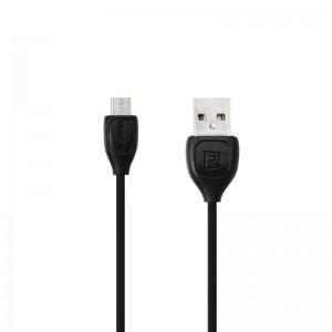 USB Cable Remax (OR) Lesu RC-050m microUSB Black 1m