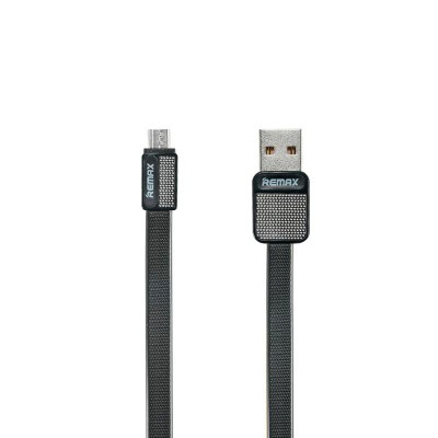USB кабель Remax (OR) Platinum RC-044m microUSB Black 1m
