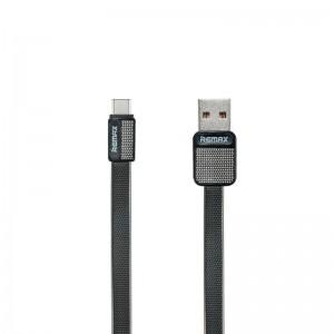 USB Cable Remax (OR) Platinum RC-044a Type-C Black 1m