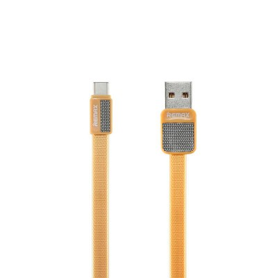 USB кабель Remax (OR) Platinum RC-044a Type-C Gold 1m