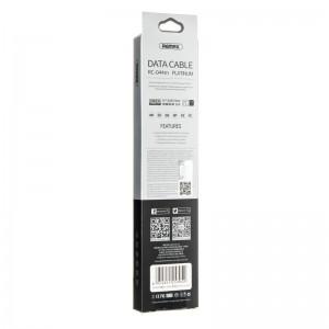 USB Cable Remax (OR) Platinum RC-044i iPhone 5/6 Black 1m
