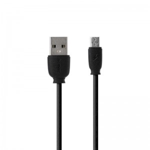 USB Cable Remax (OR) Fast Charging RC-134m MicroUSB Black 1m