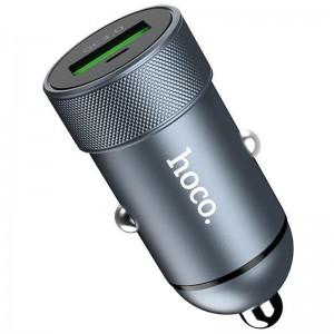 АЗУ 1USB Hoco Z32 QC3.0 Grey (3A)