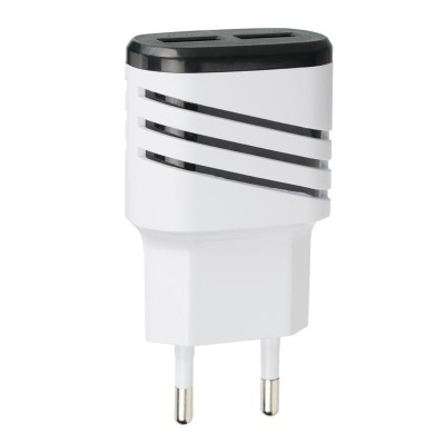 СЗУ 2USB Optima Energy LED (2.1A) Black