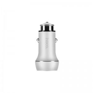 АЗУ 2USB Hoco Z7 Kingkong Silver (2.4A)